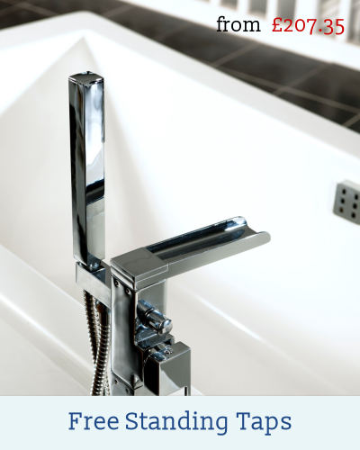 Freestanding bath mixer taps for bathtubs