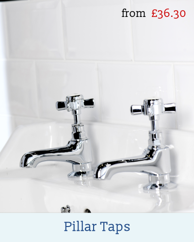 Basin and Bath Pillar Taps