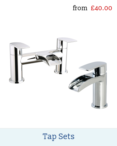 Modern and traditional tap sets for bathroom, cloakroom ed En-suite